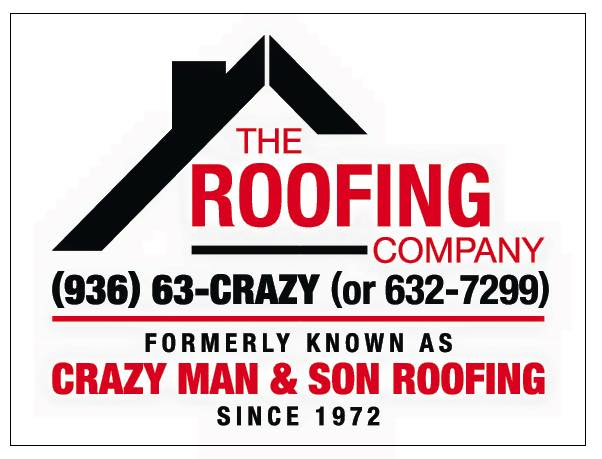 CRAZY MAN U0026 SON ROOFING 936 632 7299. The Roofing Company Lufkin